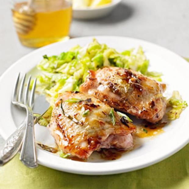 Lemon-Ginger Grilled Chicken